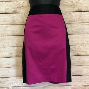 The Limited - NWT color block pencil skirt